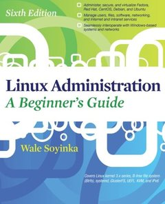 Linux Administration A Beginners Guide, 6/e (Paperback)-cover