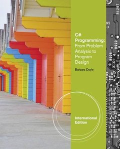 C# Programming : From Problem Analysis to Program Design, 3/e (IE-Paperback)-cover