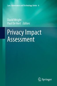 Privacy Impact Assessment (Hardcover)-cover