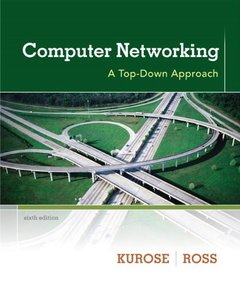 Computer Networking: A Top-Down Approach, 6/e (Hardcover)美國原版-cover