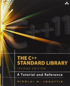 The C++ Standard Library: A Tutorial and Reference, 2/e (Hardcover)-cover