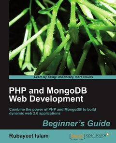 PHP and MongoDB Web Development Beginner's Guide-cover