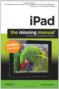 iPad: The Missing Manual, 4/e (Paperback)-cover