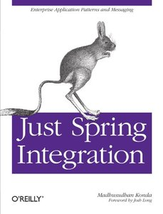 Just Spring Integration (Paperback)-cover
