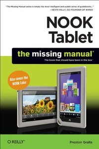 NOOK Tablet: The Missing Manual (Paperback)-cover