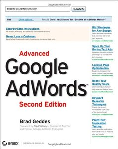 Advanced Google AdWords, 2/e (Paperback)-cover