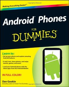Android Phones For Dummies (Paperback)-cover