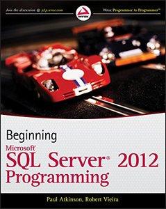 Beginning Microsoft SQL Server 2012 Programming (Paperback)-cover