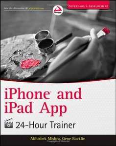 iPhone and iPad App 24-Hour Trainer (Paperback)-cover