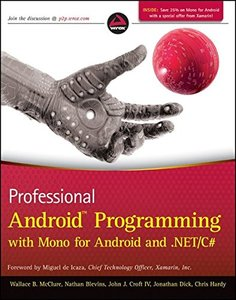 Professional Android Programming with Mono for Android and .NET/C# (Paperback)-cover
