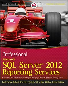 Professional Microsoft SQL Server 2012 Reporting Services (Paperback)-cover