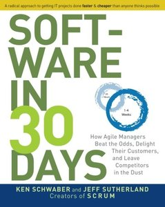 Software in 30 Days: How Agile Managers Beat the Odds, Delight Their Customers, And Leave Competitors In the Dust (Paperback)-cover