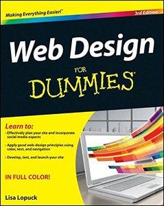Web Design For Dummies, 3/e (Paperback)-cover