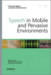 Speech in Mobile and Pervasive Environments (Hardcover)-cover