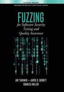 Fuzzing for Software Security Testing and Quality Assurance (Hardcover)-cover