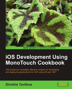 iOS Development using MonoTouch Cookbook (Paperback)-cover