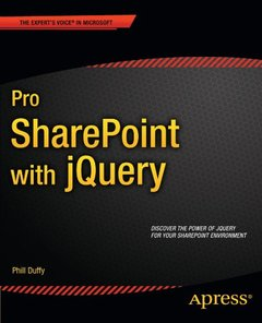 Pro SharePoint with jQuery (Paperback)-cover