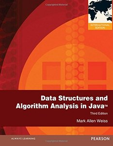 Data Structures and Algorithm Analysis in Java, 3/e (IE-Paperback)-cover