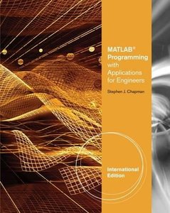 Matlab Programming With Applications For Engineers (IE-Paperback)-cover