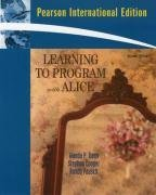 Learning to Program with Alice, 2/e (IEPaperback)-cover