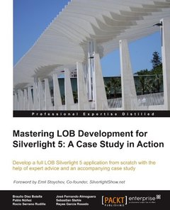 Mastering LOB Development for Silverlight 5: A Case Study in Action (Paperback)-cover