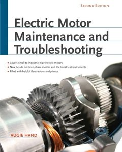 Electric Motor Maintenance and Troubleshooting, 2/e (Paperback)-cover