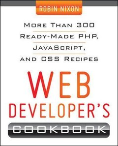Web Developer's Cookbook (Paperback)-cover