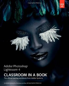 Adobe Photoshop Lightroom 4 Classroom in a Book (Paperback)-cover
