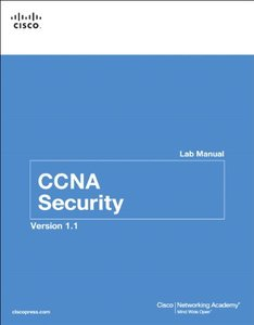 CCNA Security Lab Manual Version 1.1, 2/e (Paperback)-cover