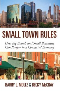 Small Town Rules: How Big Brands and Small Businesses Can Prosper in a Connected Economy (Hardcover)-cover