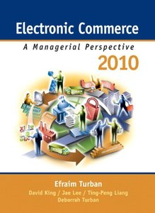 Electronic Commerce 2010: A Managerial Perspective-cover
