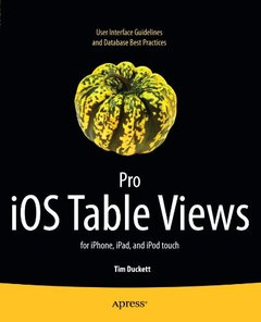 Pro iOS Table Views: for iPhone, iPad, and iPod touch (Paperback)-cover