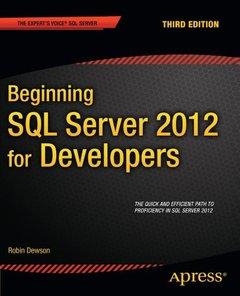 Beginning SQL Server 2012 for Developers, 3/e (Paperback)-cover