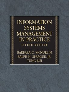 Information Systems Management in Practice, 8/e (Hardcover)-cover