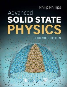 Advanced Solid State Physics, 2/e (Hardcover)-cover