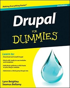 Drupal For Dummies, 2/e (Paperback)-cover