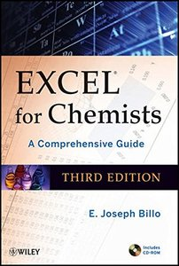 Excel for Chemists: A Comprehensive Guide, 3/e (Paperback)-cover
