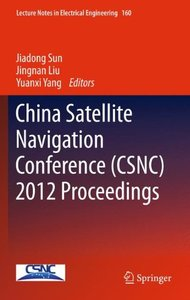 China Satellite Navigation Conference (CSNC) 2012 Proceedings (Hardcover)-cover