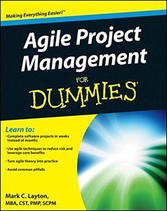Agile Project Management For Dummies (Paperback)-cover