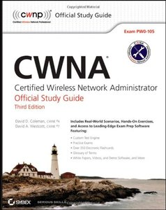 CWNA: Certified Wireless Network Administrator Official Study Guide: Exam PW0-105, 3/e (Paperback)-cover