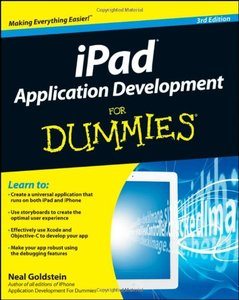 iPad Application Development For Dummies, 3/e (Paperback)-cover
