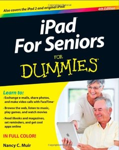 iPad For Seniors For Dummies, 4/e (Paperback)-cover