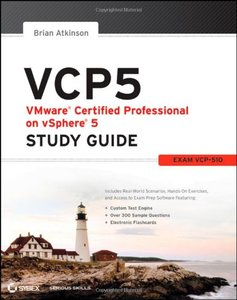VCP5 VMware Certified Professional on vSphere 5 Study Guide: Exam VCP-510 (Paperback)-cover