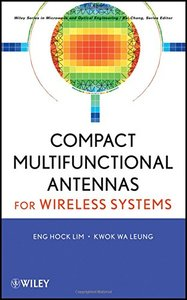 Compact Multifunctional Antennas for Wireless Systems (Hardcover)-cover