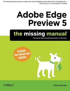 Adobe Edge Preview 5: The Missing Manual (Paperback)-cover