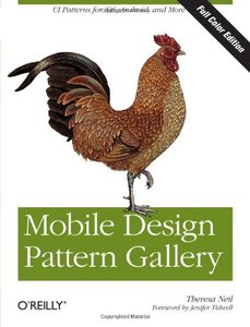 Mobile Design Pattern Gallery, Color Edition (Paperback)-cover