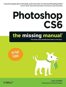 Photoshop CS6: The Missing Manual (Paperback)-cover