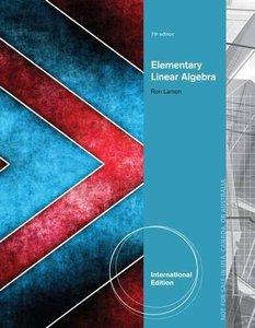Elementary Linear Algebra, 7/e (IE-Paperback)-cover