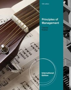 Principles of Management, 12/e (Paperback)-cover