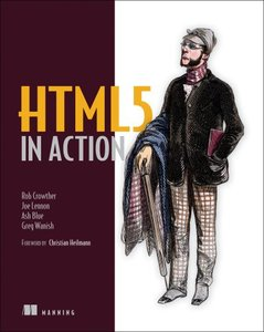 HTML5 in Action (Paperback)-cover